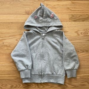 Hanna Andersson Unicorn Hoodie in French Terry